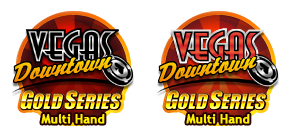 Multi Hand Vegas Downtown Blackjack Gold